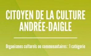 Prix Citoyen de la culture Andrée-Daigle